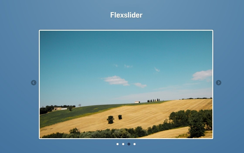 Flexslider — бесплатный jQuery-слайдер